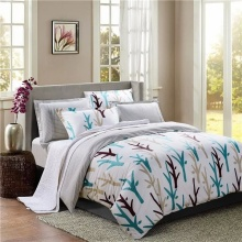 100 % Baumwolle Pigment Bettlaken Set /Duvet-Cover-Set
