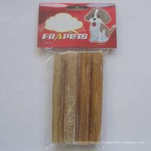 """Rolo pressionado 5 """"X15mm do couro cru natural dos produtos do animal de estimação"""