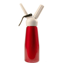 Spray Red Color Glossy Finish Yingmaode Whipped Cream Dispenser 500ml with Nozzles And Brush