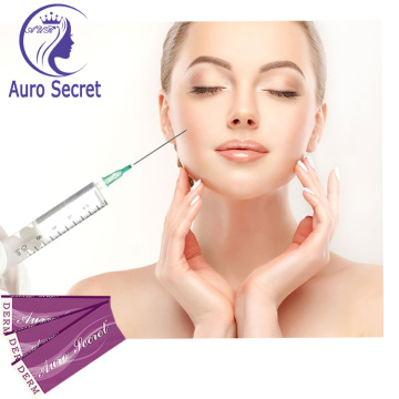 Gel di acido ialuronico iniettabile da 1 ml per filler dermico