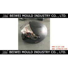 Molde plástico do capacete da cara completa da motocicleta