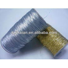 Золото щепка металлик эластичный шнур