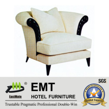 Top Grade Hot Selling Single Sofa Hotel Sofa (EMT-SF30)
