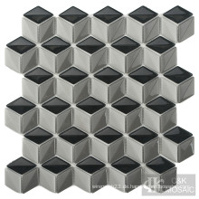 Interessantes Diamond Kitchen Backsplash Glasmosaik