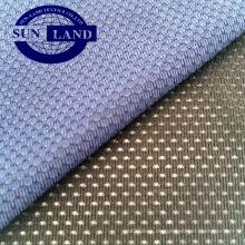 hellrotes, einzelnes, 90% Polyester, 10% Elasthan, elastisches Netzgewebe
