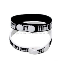 Silicone Wristbands with Embossed Logo