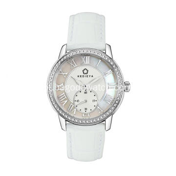 Ladies time quartz wrist watch