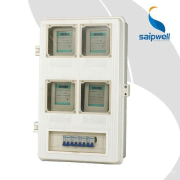 High quality 150*250*130mm ip66 Transparent plastic electric meter boxes for electronic with CE,Rosh