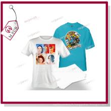 Papier d'impression de transfert lumière T Shirts avec imprimantes jet d'encre
