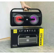 DANIU WSA-863 Wireless Rechargeable Bt Speaker Stereo Subwoofer Audio Boombox Music Smart Portable Speakers
