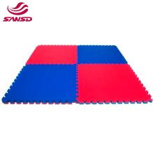 Thick big size eco friendly soft martial reversible training mats taekwondo 2cm thickness foam eva anti-slip mat