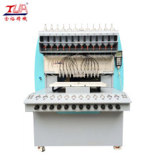 China for Pvc Label Dispensing Machine Plastic Logo/Patch/Trademarks Making Machine supply to Poland Manufacturer