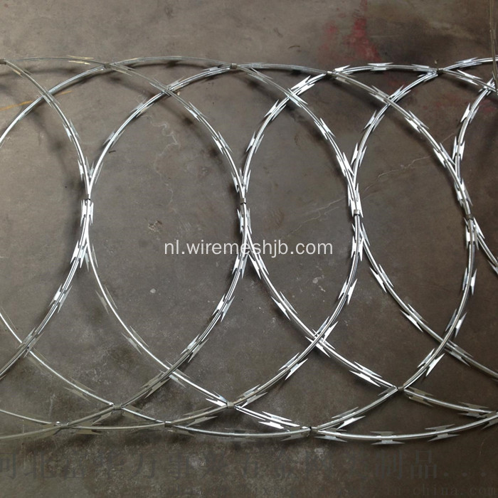 Razor Wire Fence-Flat Wrap Type