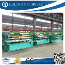 Farbe Stahl Dach Blech glasiert Fliesen Roll Umformmaschine
