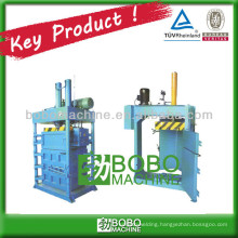 Used clothes compress baler machine