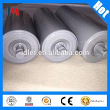 Durable SKF bearing steel conveyor idler roller for fertilizer industry