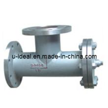 Flasseur positif et filtrant négatif-filtre à eau