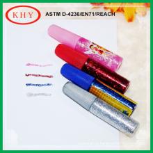 Colorful glitter glue