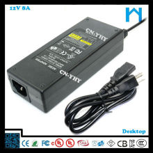 led power supply 12 v ul ce approved adapter 96w the power adapter 8A