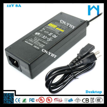 ul wall variable power adapter voltage power supply 96w ul standard ac adapter power supply 8A
