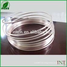 joyería plata material alambre wire9999