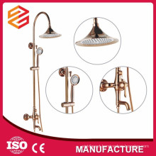 brass shower set sliding bar room massage shower set