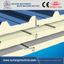 High Efficiency PU Discontinuous Sandwich Panel Machine