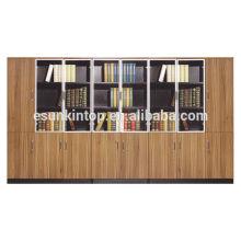 Diseño de estantería de madera para la oficina grande, caso agradable de los archivos del aspecto (KB838-1)