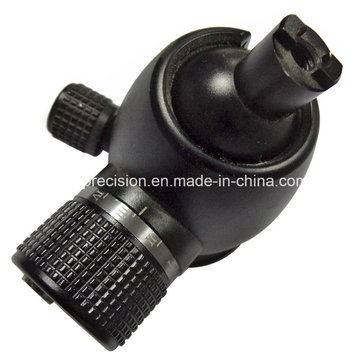 CNC Machining Ball Head for Camera Tripod with Aluminum Anodizing