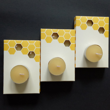 Beeswax Tea Light Candles Pure original refinado