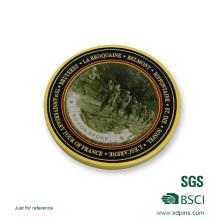 Moneda de Bronce Material Sticker Souvenir Challenge Coin