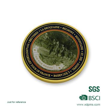Moeda de desafio de lembrança de Material Bronze etiqueta