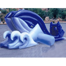 2013 New Pop inflatable water park in commercial use