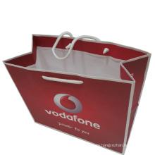 Bolso de compras de papel personalizado para embalaje de regalo