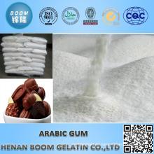 Arabisches Gummi als Klebemittel