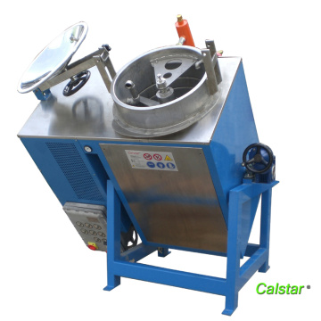Shoe solvent recovery machine