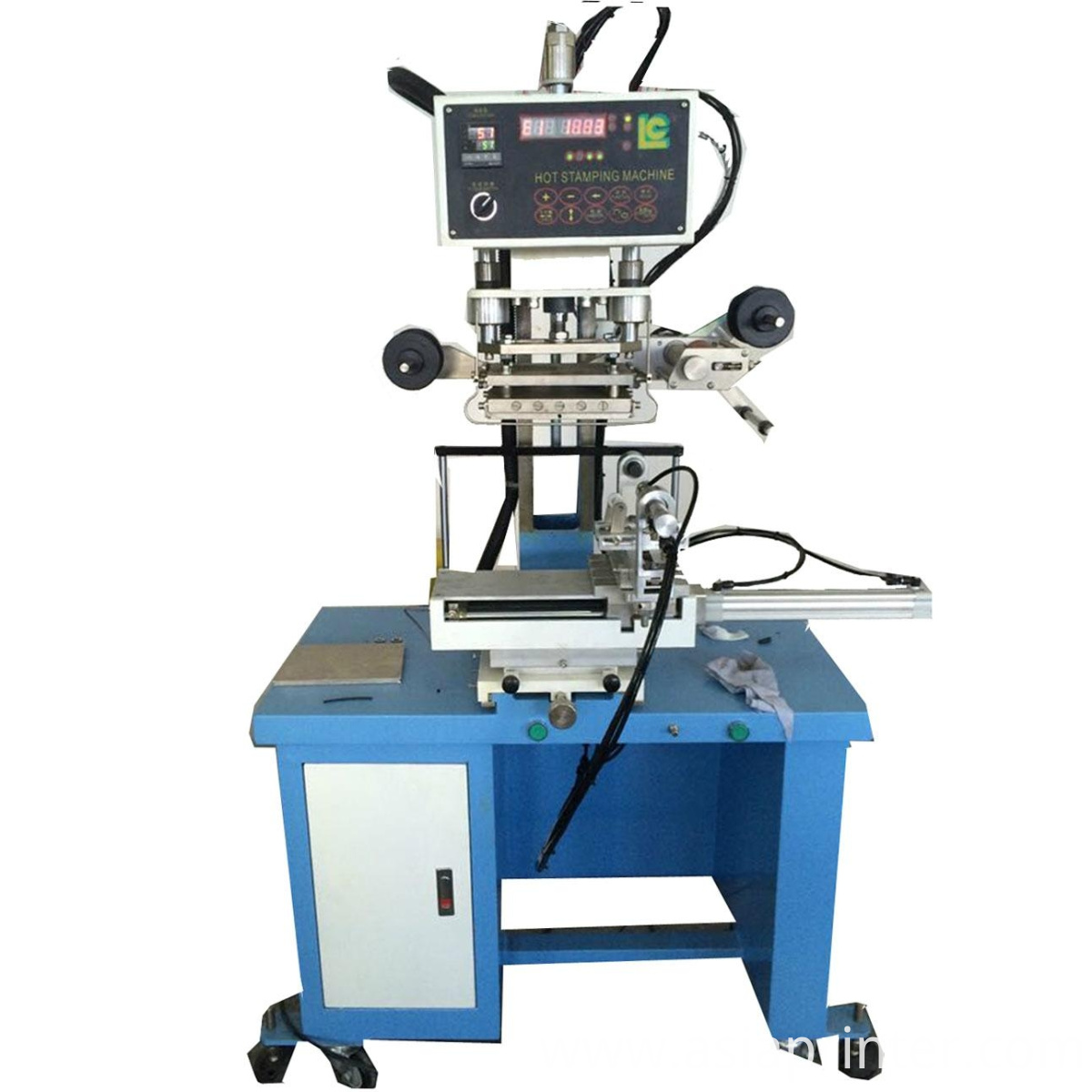 LC-TC-250K plane and round surface hot stamping machine