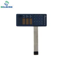 Blauer Hintergrund ZNB-2000 Infusionspumpe Membranschalter