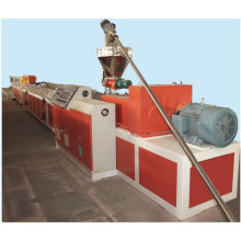 PE/PVC Wood plastic composite profile extruder machine