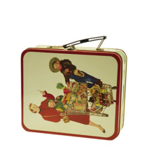 Mini Dora Lunch Gift Tin Box with Handle and Lock