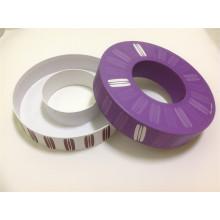 Caixa de caixa anular e caixa de papel do círculo