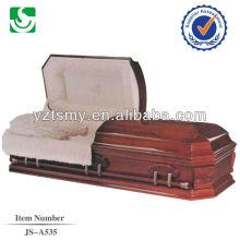 wholesale American style casket larch