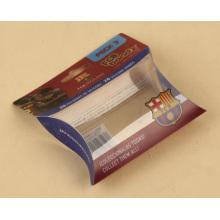Plastik kleine Geschenkverpackungsbox in Kissenform (PVC-Paket)