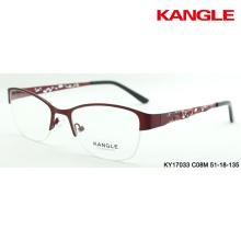 monture de lunettes nouvelle conception en métal monture optique