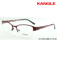 spectacle frame new design metal optical frame eyeglasses