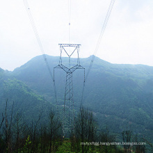 220 Kv Owl-Type Galvanized Tower