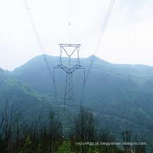 Torre galvanizada tipo coruja de 220 kv