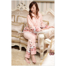 Customed super Soft Flannel Pajamas Suit for Winter Home Relax Wear