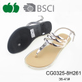 Fashion Latest Summer Flat Lady Outdoor Sandals