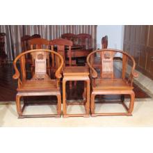 3наборы Бирма padauk Дворец стул с природой и четко зерном.